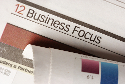 Business focus on PR