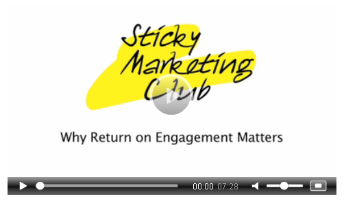 understanding ROI - Sticky Marketing Club video