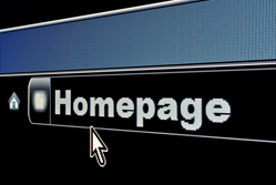 Homepage graphics