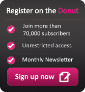 Marketing Donut registration button