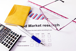 Market analysis: market research form
