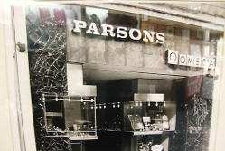 100 year old business - Parsons shop