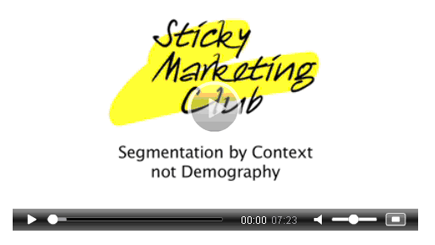Who are your customers? - Sticky Marketing Club video