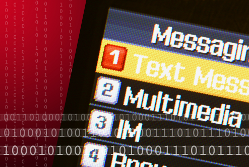 Mobile text screen - SMS marketing{{}}