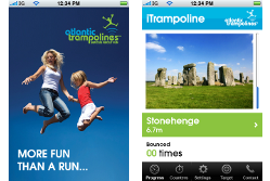iTrampolines app{{Create your own app - iTrampolines app}}