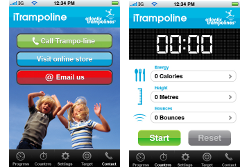 iTrampolines app{{Create your own app - iTrampolines}}