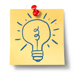 How can I stop someone stealing my great idea?/Yellow post it of  light bulb{{}}