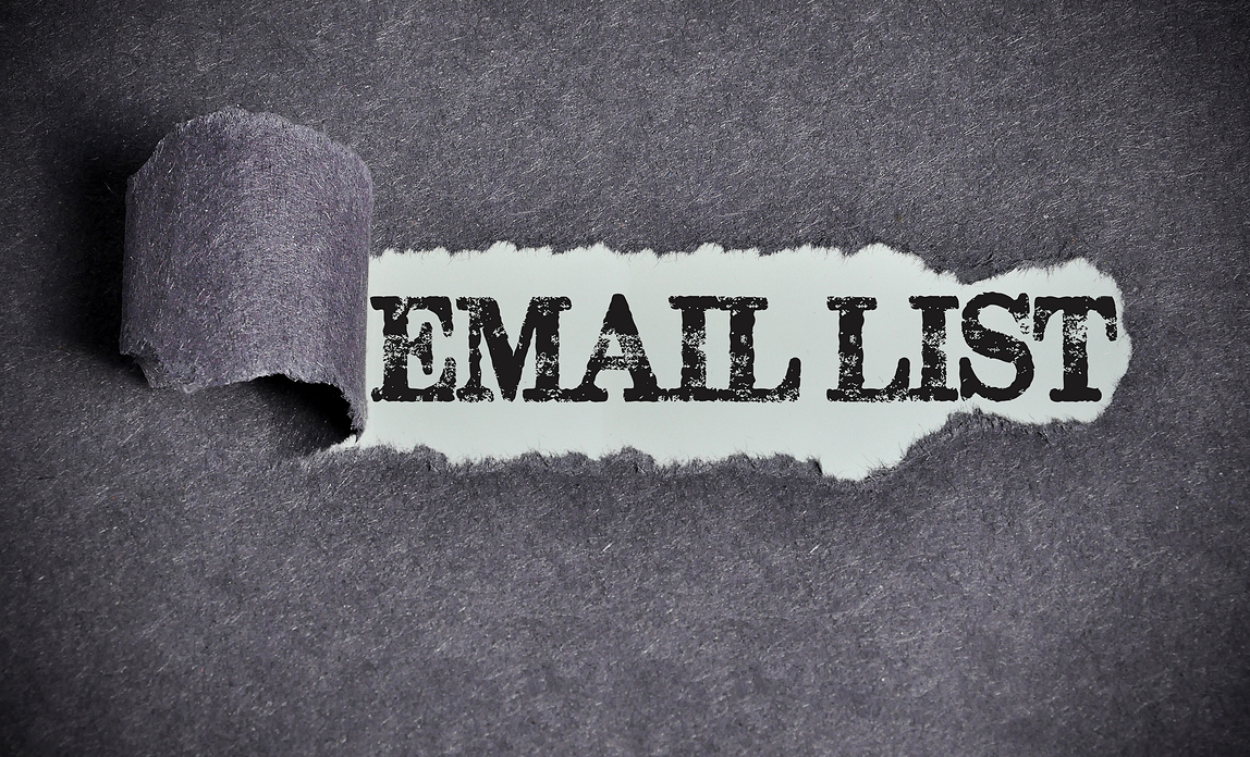 Building a quality email marketing list{{}}