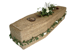 How we got funeral directors to buy coffins made of banana leaves