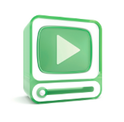 Autoplay video in email/green screen with video symbol{{}}