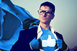 Customers the heroes on social media