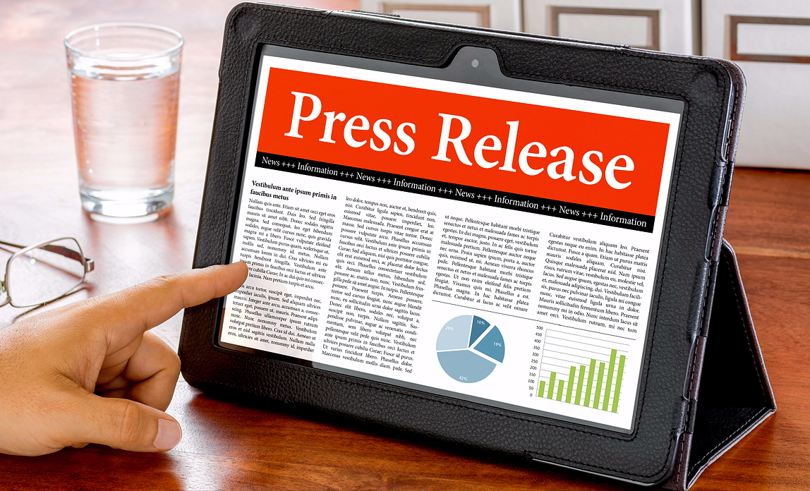 How to put together a press release