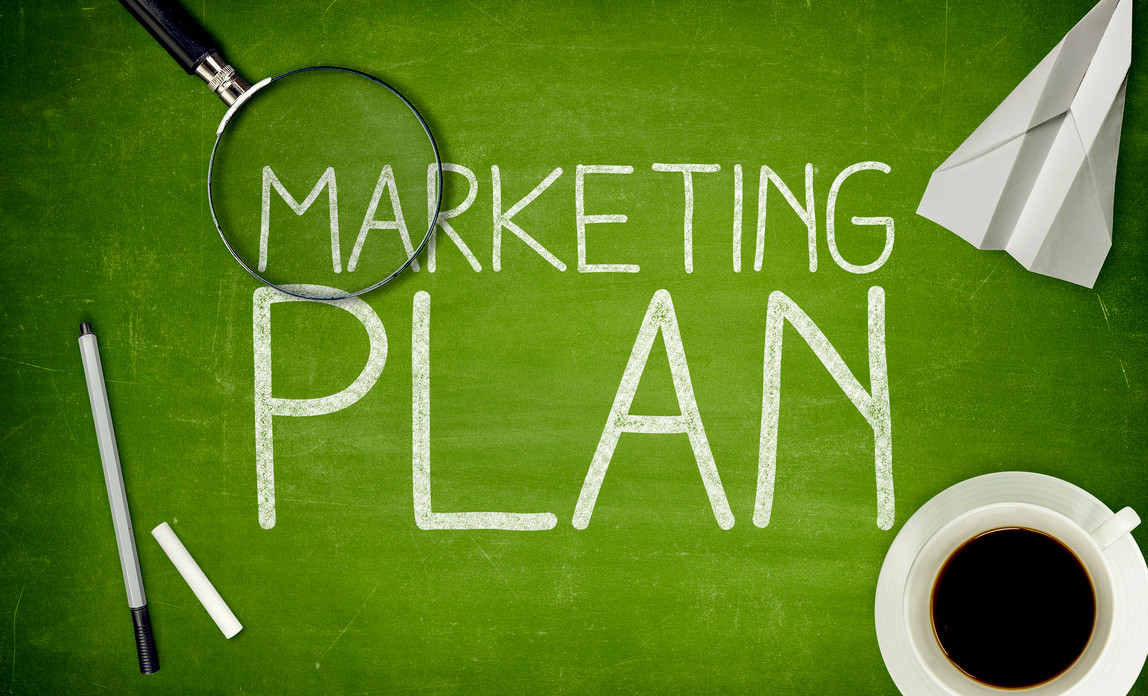 Marketing Plan Template Donut