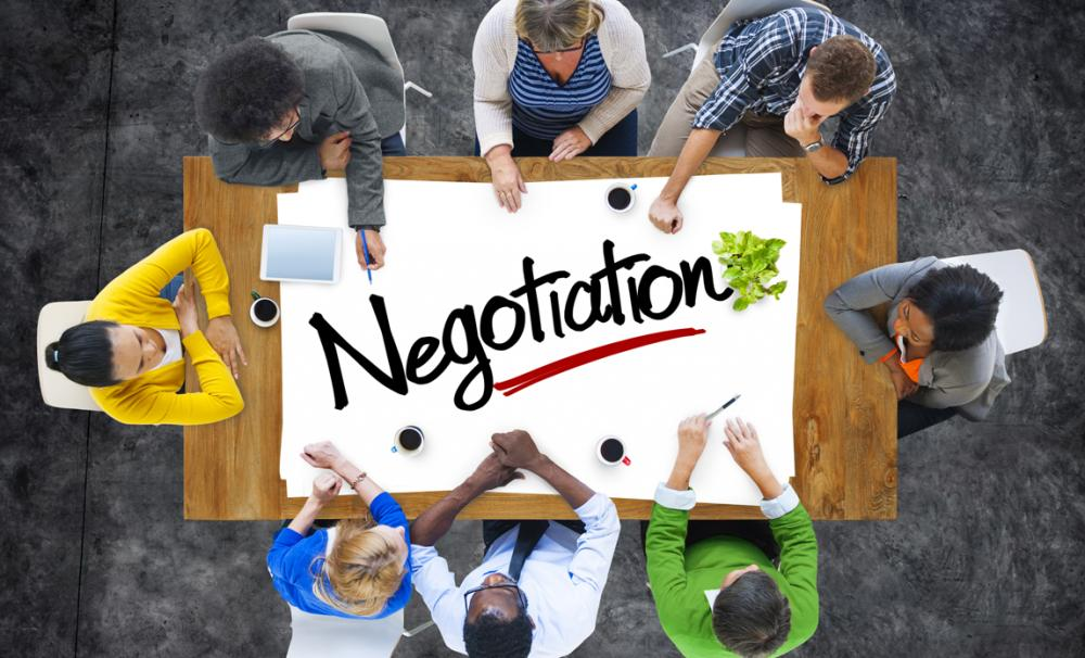 Sales techniques and negotiations | Marketing Donut