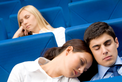 Five sure-fire ways to send an audience to sleep{{}}