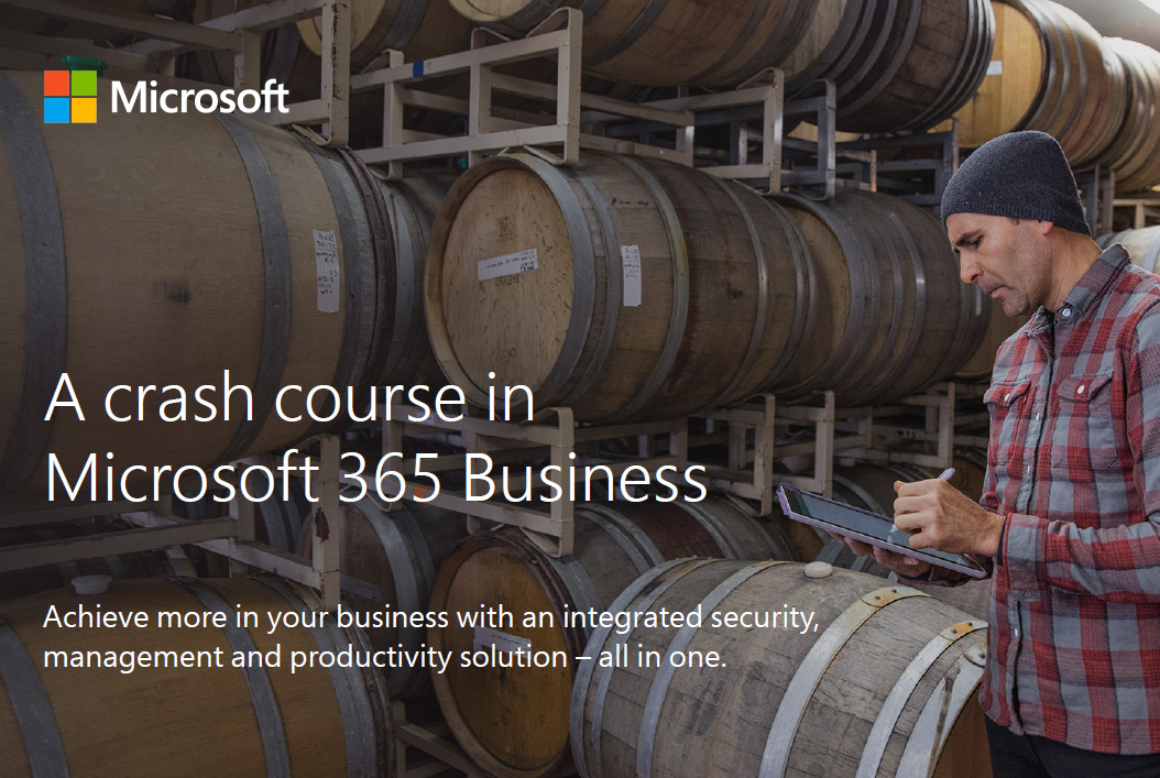 Crash course in Microsoft 365 Business – free guide