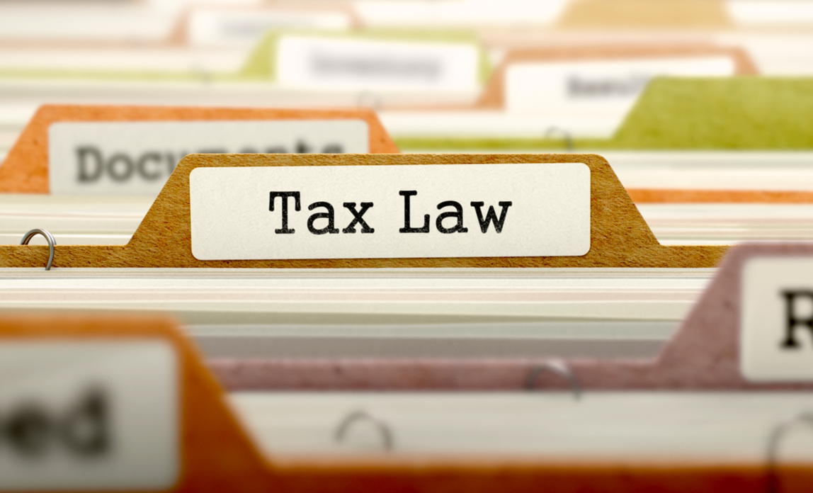 Tax Law - Folder Register Name in Directory