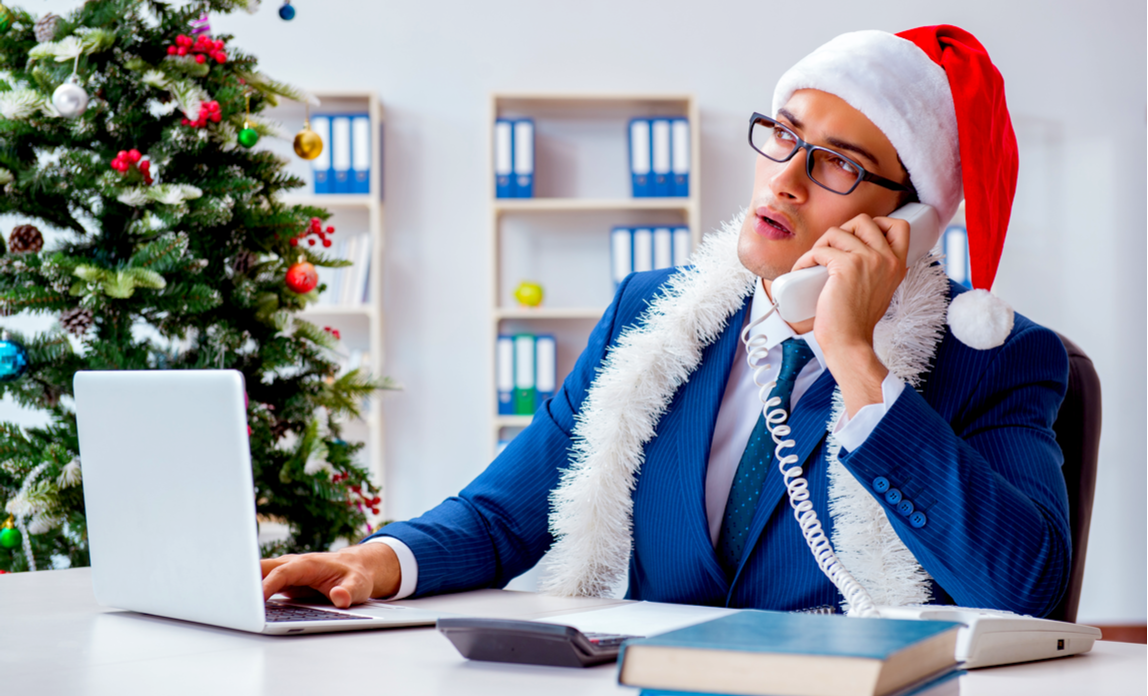 Managing customer calls over Christmas and New Year