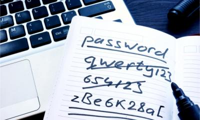 List of secure and unsecure password options