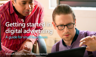 Getting started in digital advertising eguide cover image