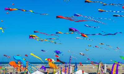 Colourful kites - How to produce your own marketing leaflets