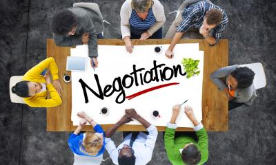 Sales techniques and negotiations