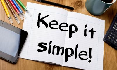 The secret to good writing? Keep it simple