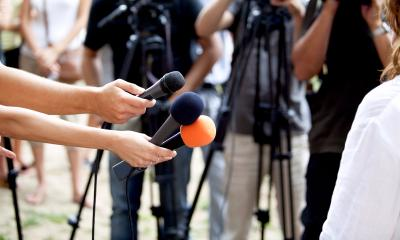 media interviews and publicity events