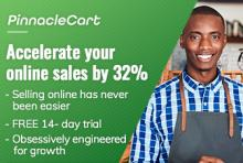14-day free trial of PinnacleCart ecommerce software